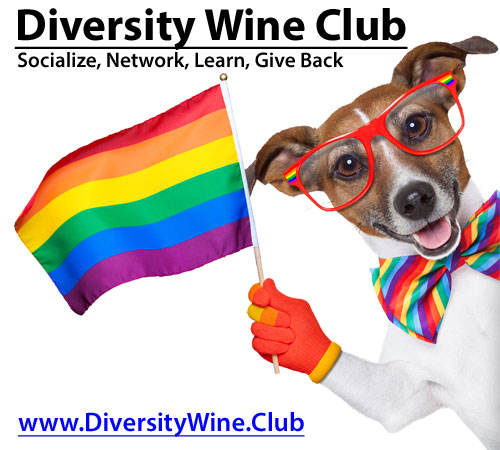 Diversity Wine Club Advertisement